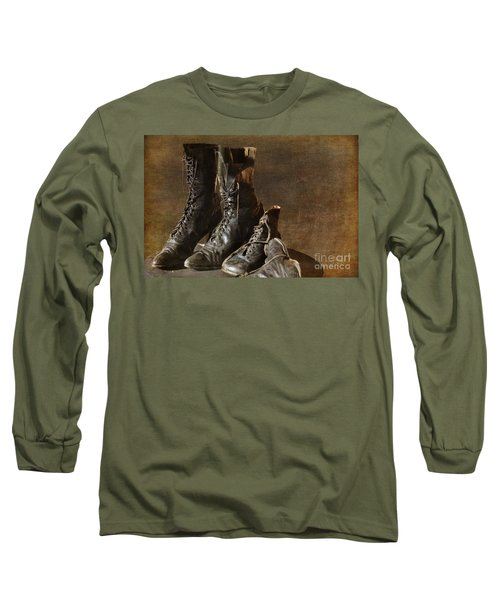 These Boots Are Made For Walking Long Sleeve T-Shirt
