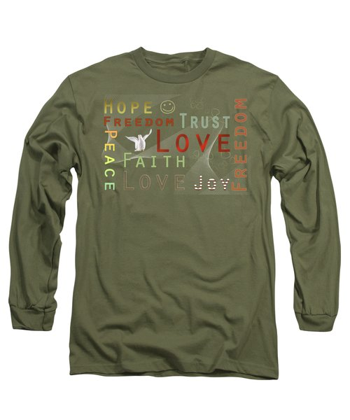 Think Positive Long Sleeve T-Shirt