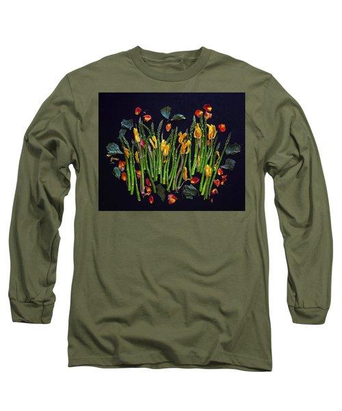 Think Spring Asparagus Long Sleeve T-Shirt