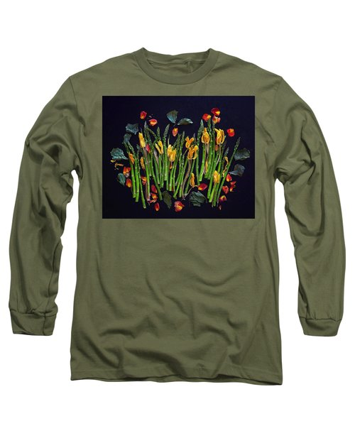 Think Spring Asparagus Long Sleeve T-Shirt
