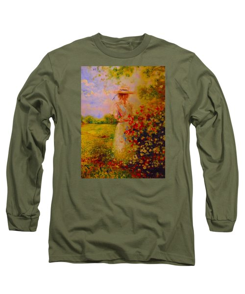 This Is A Good View Long Sleeve T-Shirt by Emery Franklin