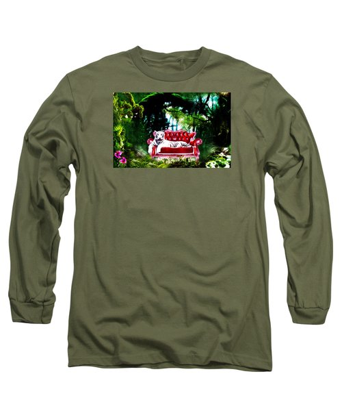 This Place Is Reserved For The Boss Long Sleeve T-Shirt