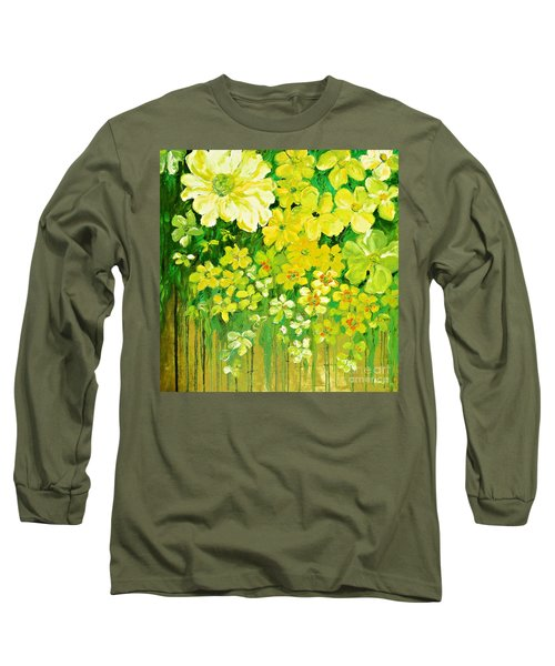 This Summer Fields Of Flowers Long Sleeve T-Shirt