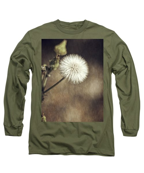 Long Sleeve T-Shirt featuring the photograph Thistle by Carolyn Marshall