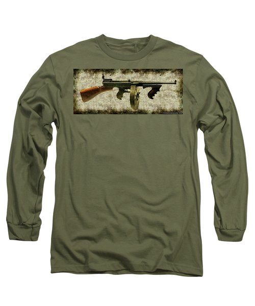 Thompson Submachine Gun 1921 Long Sleeve T-Shirt