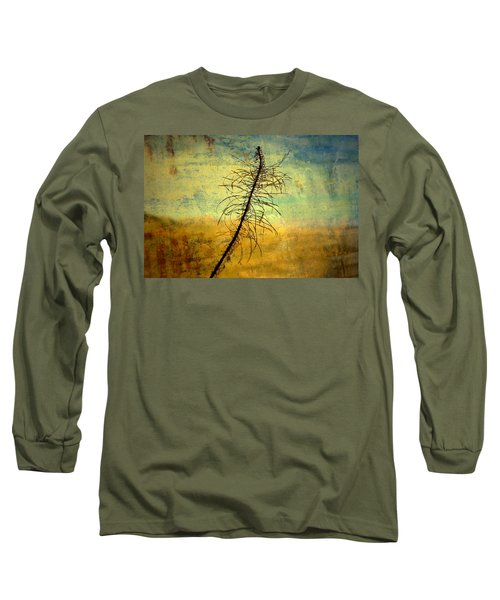 Thoughts So Often Long Sleeve T-Shirt by Mark Ross