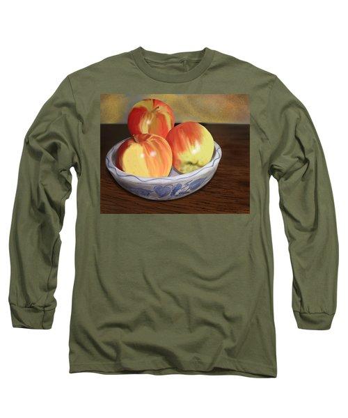 Three Apples Long Sleeve T-Shirt