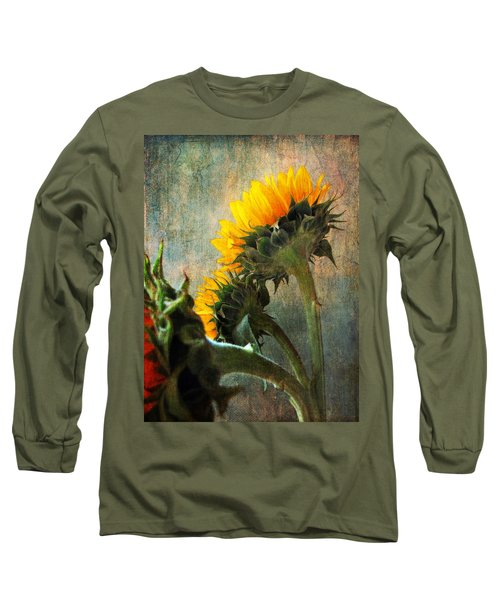 Long Sleeve T-Shirt featuring the photograph Three by John Rivera