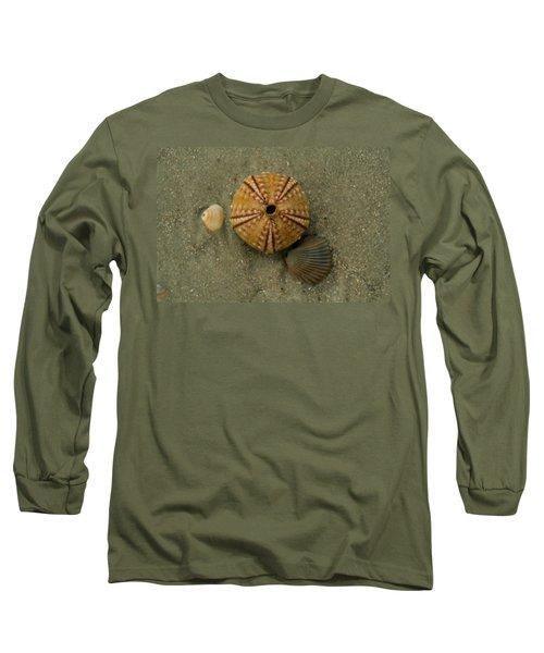 Three Shell Study Long Sleeve T-Shirt