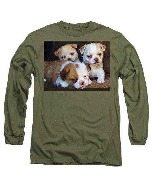 Three Sweeties Long Sleeve T-Shirt