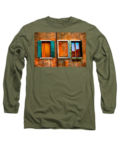 Three Windows Long Sleeve T-Shirt by Harry Spitz