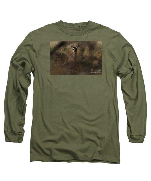 Through The Hedge Row  Long Sleeve T-Shirt