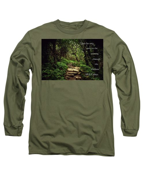 Long Sleeve T-Shirt featuring the photograph Through The Shadows by Jessica Brawley