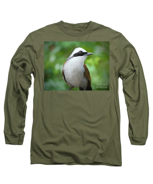 Thrush Pose Long Sleeve T-Shirt by Judy Kay