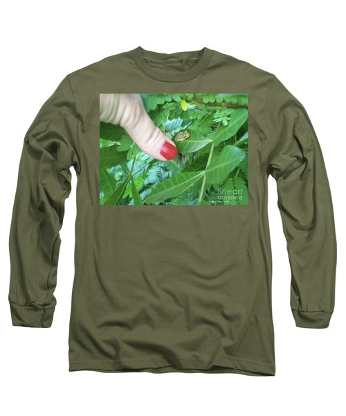 Long Sleeve T-Shirt featuring the photograph Thumb Sized by Megan Dirsa-DuBois