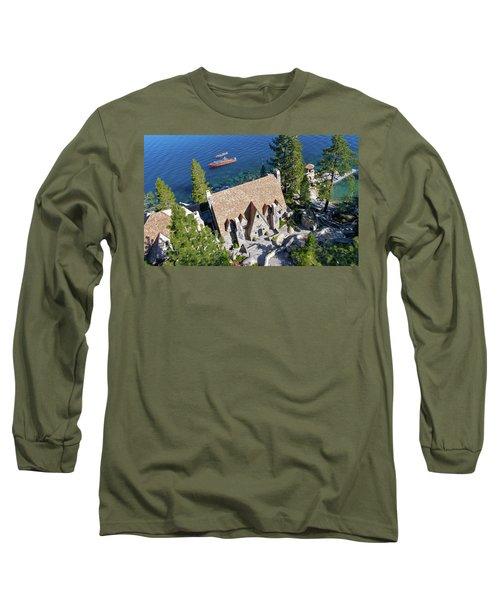 Thunderbird Lodge Aerial Long Sleeve T-Shirt
