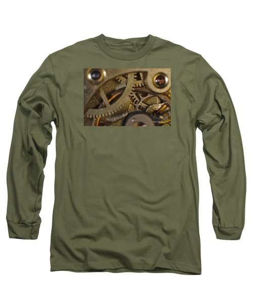 Tic Tac Wheels Long Sleeve T-Shirt by Angelo DeVal
