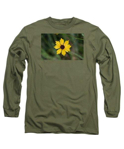 Tickseed Flower Long Sleeve T-Shirt by Kenneth Albin