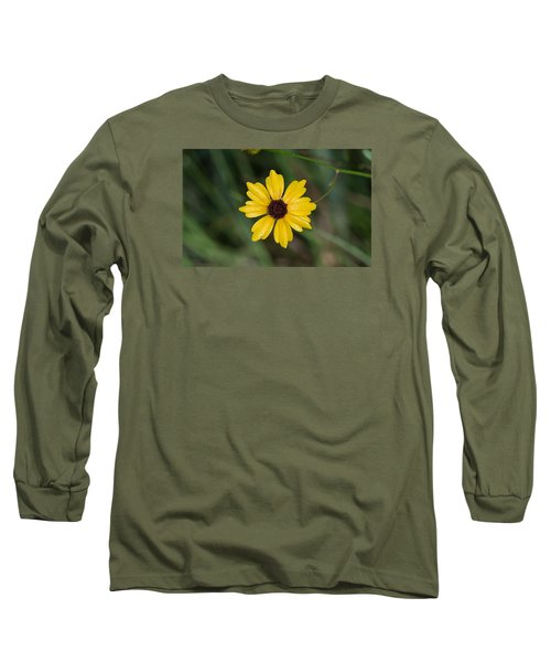 Tickseed Flower Long Sleeve T-Shirt