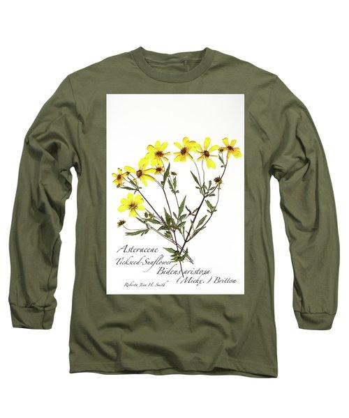 Tickseed Sunflower Long Sleeve T-Shirt