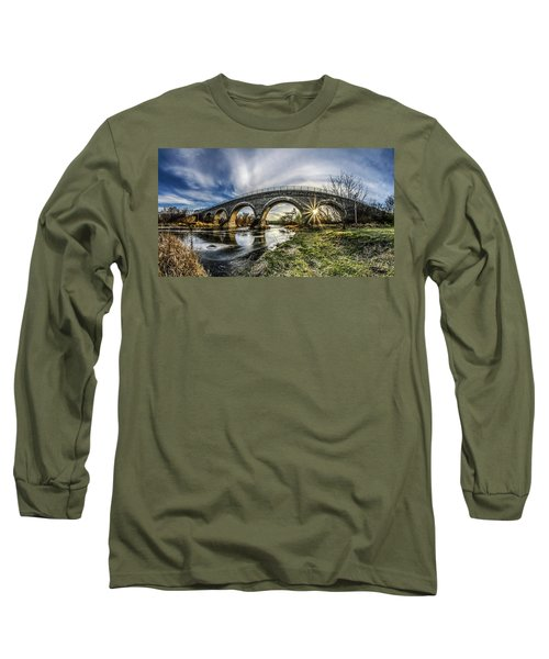 Tiffany Bridge Panorama Long Sleeve T-Shirt