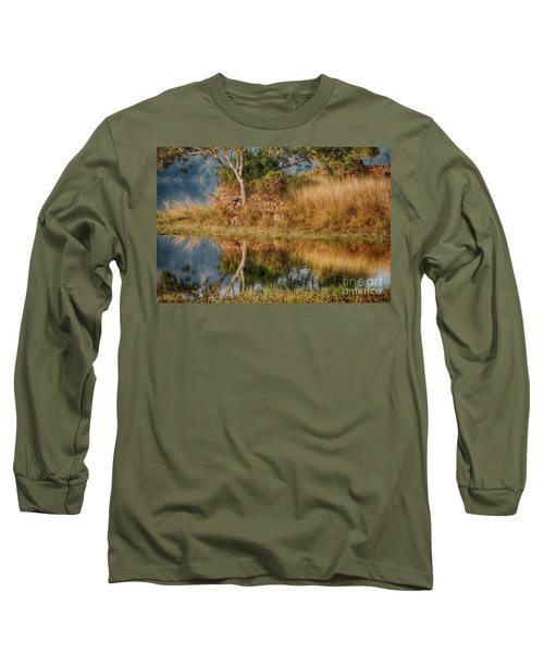 Tigerland Long Sleeve T-Shirt by Pravine Chester