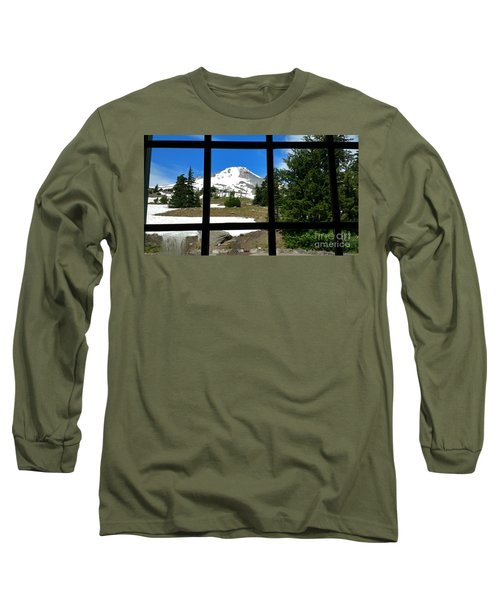 Timberline Lodge View Long Sleeve T-Shirt