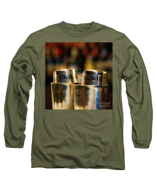 Time For A Cocktail Long Sleeve T-Shirt