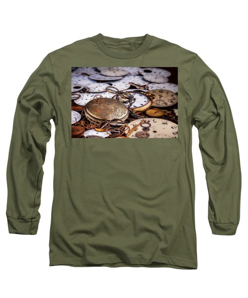 Time Pieces Long Sleeve T-Shirt by Tom Mc Nemar