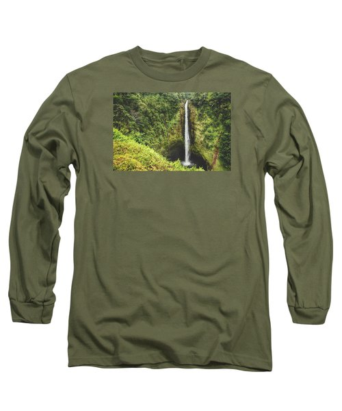 Long Sleeve T-Shirt featuring the photograph Time Stands Still by Laurie Search