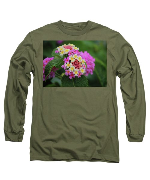 Long Sleeve T-Shirt featuring the photograph Tiny Bouquets by Rowana Ray