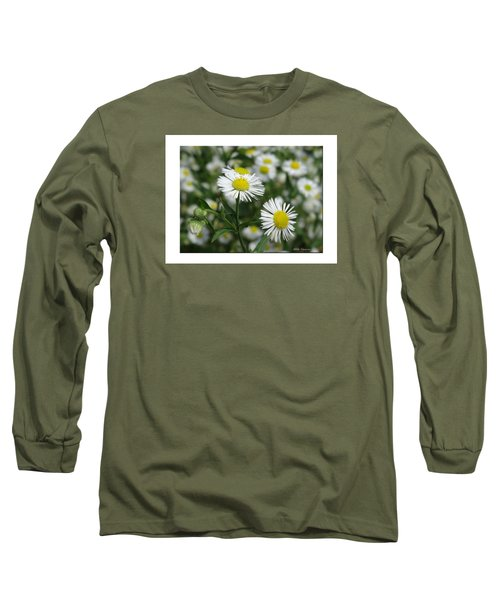 Tiny Flowers Long Sleeve T-Shirt by Mikki Cucuzzo