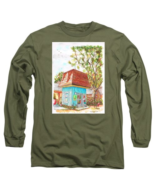 Tiny Tree Boutique In Los Olivos, California Long Sleeve T-Shirt by Carlos G Groppa