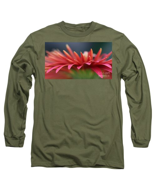 Tip Of The Flower Petals Long Sleeve T-Shirt by Yumi Johnson