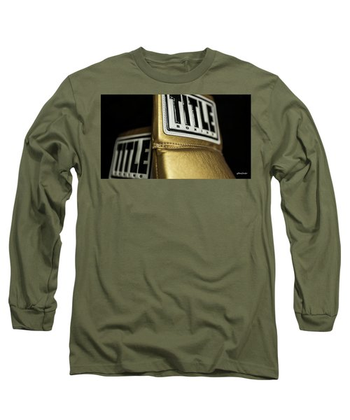 Title Boxing Gloves Long Sleeve T-Shirt