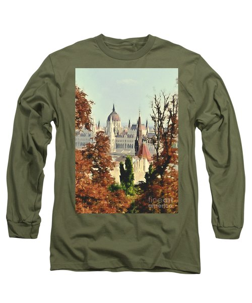 To Budapest With Love Long Sleeve T-Shirt