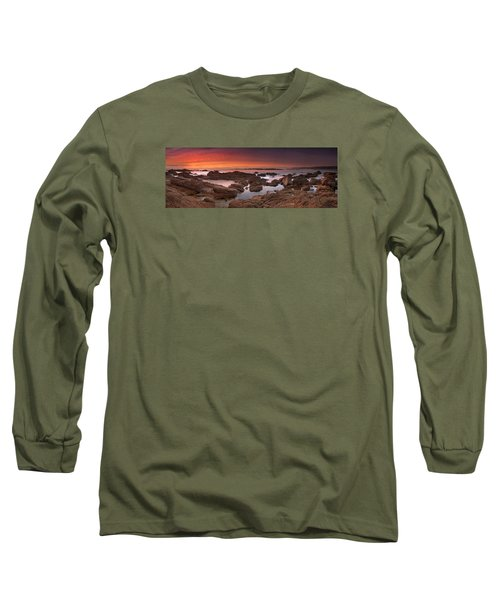 To Sea's Unknown Long Sleeve T-Shirt by John Chivers