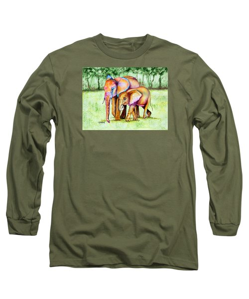 Together Forever Long Sleeve T-Shirt by Maria Barry
