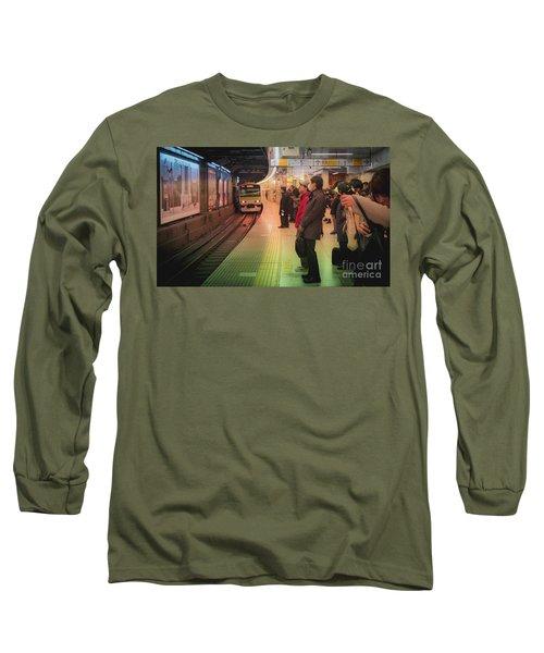 Tokyo Metro, Japan Long Sleeve T-Shirt