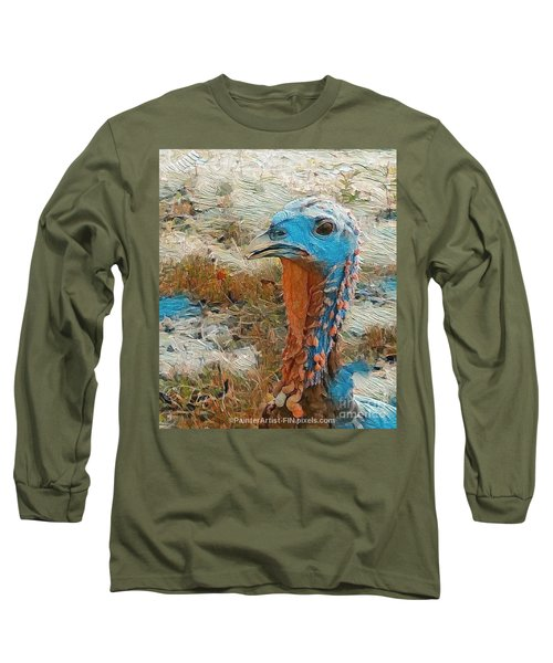 Tom In All His Glory Long Sleeve T-Shirt