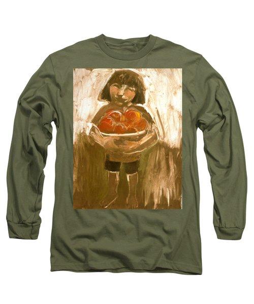 Tomato Girl Long Sleeve T-Shirt