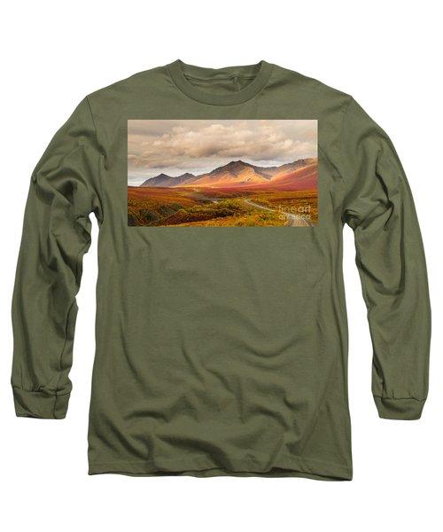 Tombstone Territorial Park Yukon Long Sleeve T-Shirt by Rod Jellison