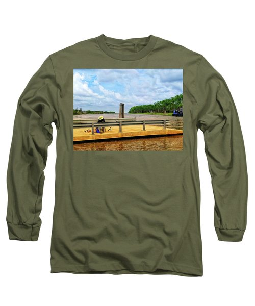 Too Hot To Fish Long Sleeve T-Shirt