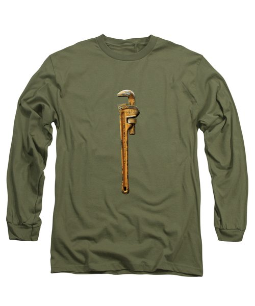 Tools On Wood 60 Long Sleeve T-Shirt