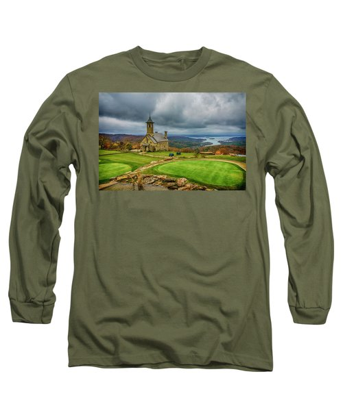 Top Of The Rock Branson Mo 7r2_dsc2627_16-11-25 Long Sleeve T-Shirt by Greg Kluempers