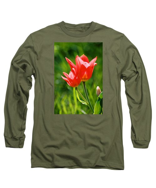 Toronto Tulip Long Sleeve T-Shirt by Steve Karol