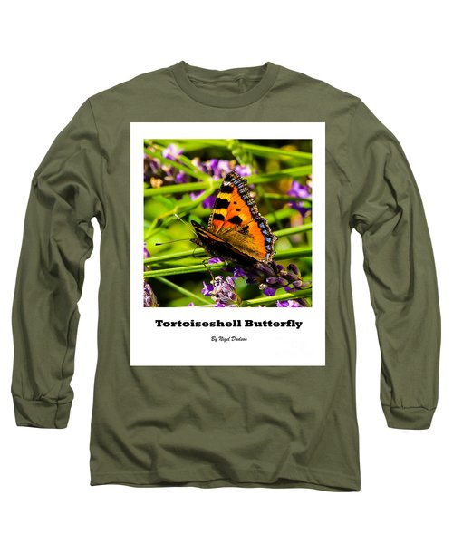 Tortoiseshell Butterfly. Long Sleeve T-Shirt