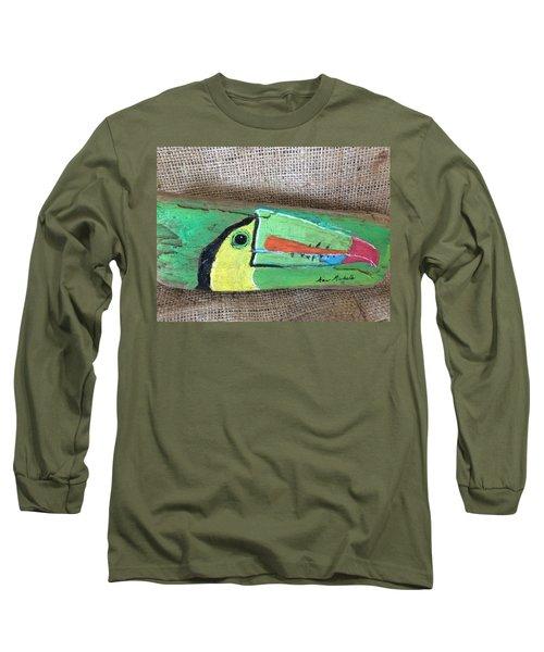 Toucan Long Sleeve T-Shirt by Ann Michelle Swadener