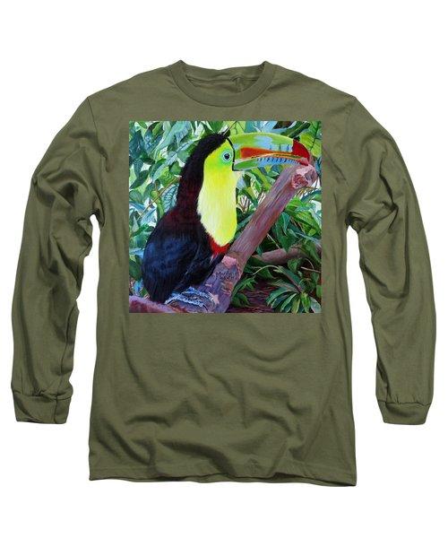 Toucan Portrait 2 Long Sleeve T-Shirt