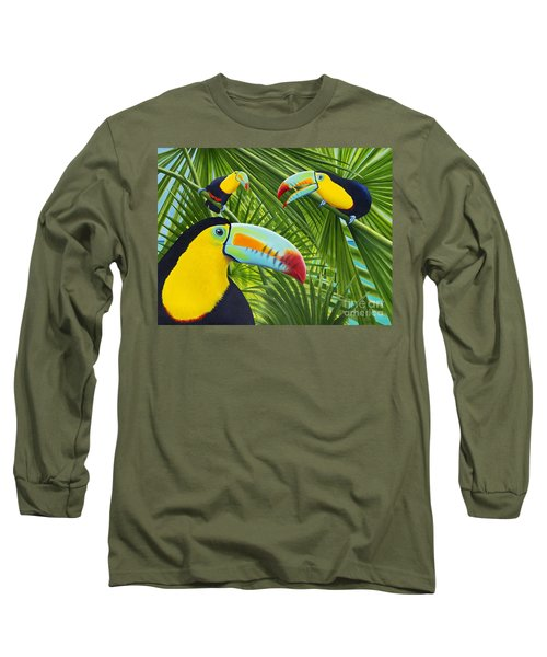 Toucan Threesome Long Sleeve T-Shirt